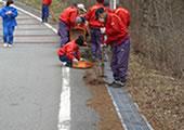 CSR活動 信和会 清掃活動