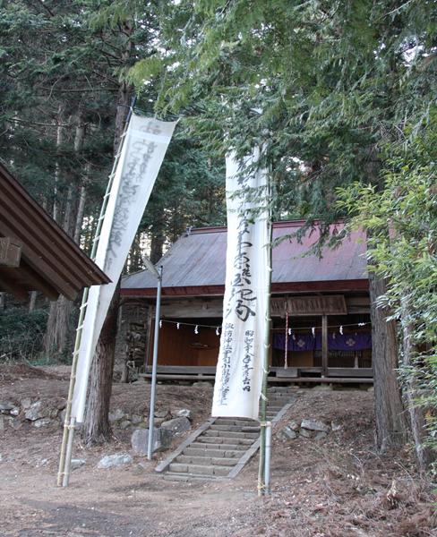 穴山ふれあいマップ 諏訪神社