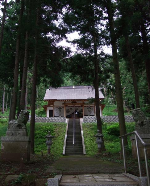 穴山ふれあいマップ 鷲宮神社