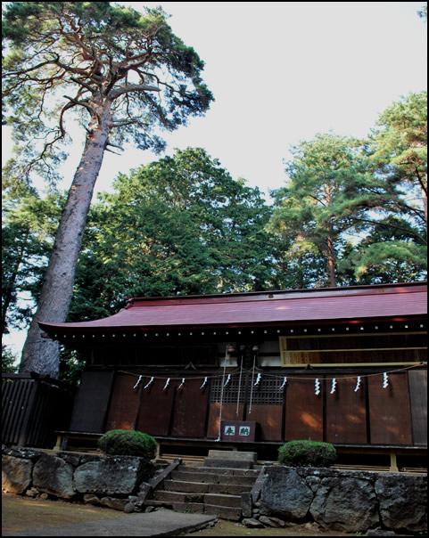 穴山ふれあいマップ 御名方神社