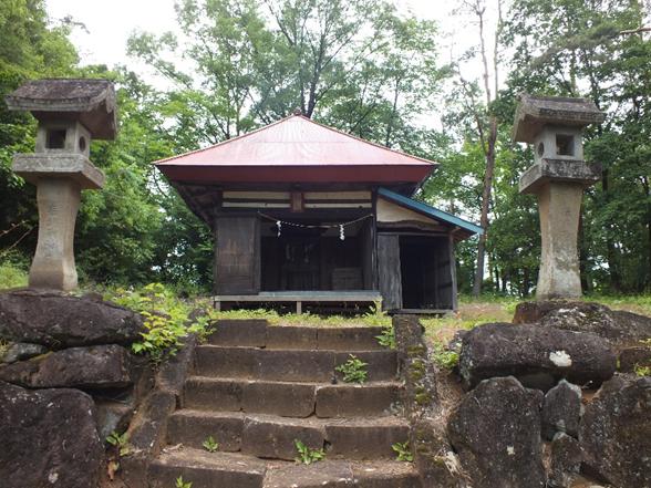 穴山ふれあいマップ 御崎神社