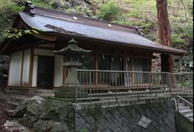 信和会 穴山ふれあいマップ 寺院 巖宮神社