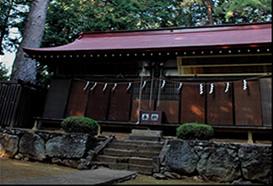 信和会 穴山ふれあいマップ 寺院 御名方神社