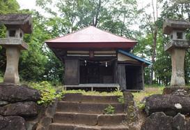 信和会 穴山ふれあいマップ 寺院 御崎神社