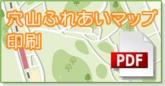 穴山町ふれあいマップ印刷