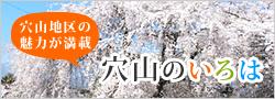 穴山地区のオススメをご紹介!!