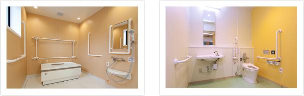 短期入所生活介護事業所 穴山の杜 入浴・トイレについて
